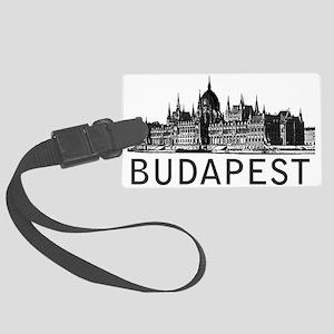 Budapest Large Luggage Tag