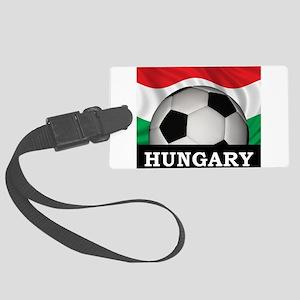 Hungary Football Large Luggage Tag