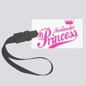 Icelander Princess Large Luggage Tag