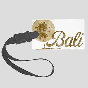 Palm Tree Bali Large Luggage Tag