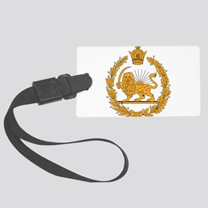 Persia Coat Of Arms Large Luggage Tag