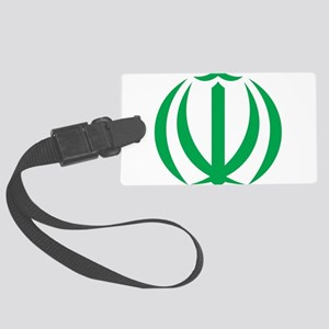 Iran Coat Of Arms Large Luggage Tag