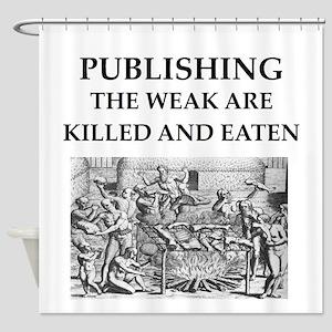 PUBLISH.ing Shower Curtain