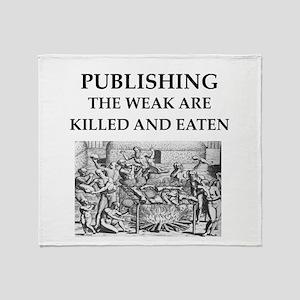 PUBLISH.ing Throw Blanket