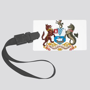 Belfast Coat Of Arms Large Luggage Tag