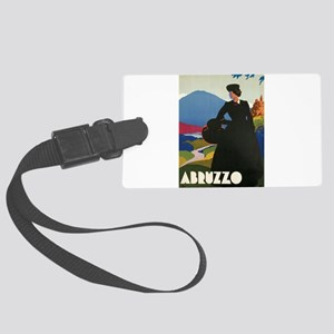 Ferrari Abruzzo Italy Large Luggage Tag