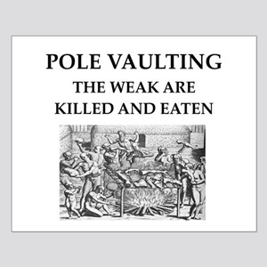 pole vaulting Small Poster