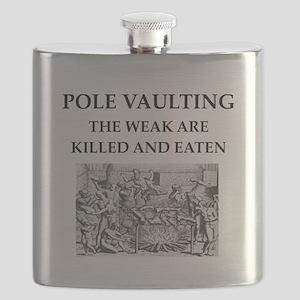 pole vaulting Flask