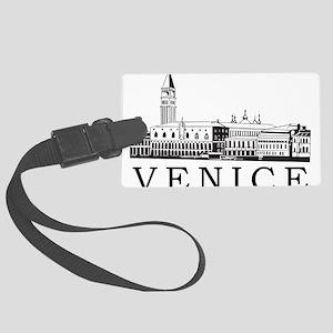 Venice Skyline Large Luggage Tag