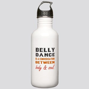 Belly dance is a conve Stainless Water Bottle 1.0L