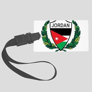 Stylized Jordan Large Luggage Tag