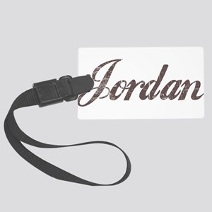 Vintage Jordan Large Luggage Tag