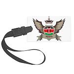 Kenya Emblem Large Luggage Tag