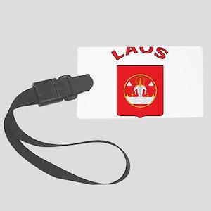 Laos Large Luggage Tag