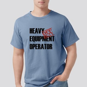 OFF DUTY HEAVY EQ OPERAT Mens Comfort Colors Shirt