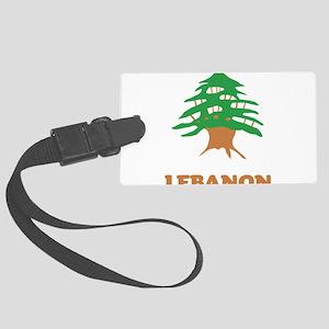 Lebanon Large Luggage Tag