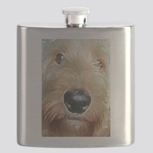 Big black squishy nose Flask