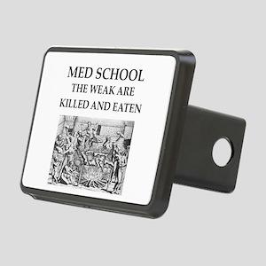 med,school Rectangular Hitch Cover