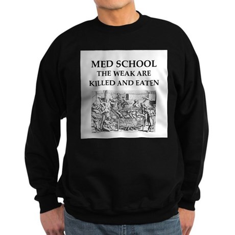 med,school Sweatshirt (dark)