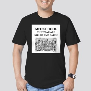 med,school Men's Fitted T-Shirt (dark)