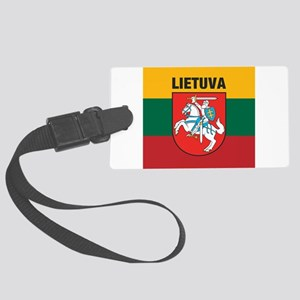 Lithuania Large Luggage Tag