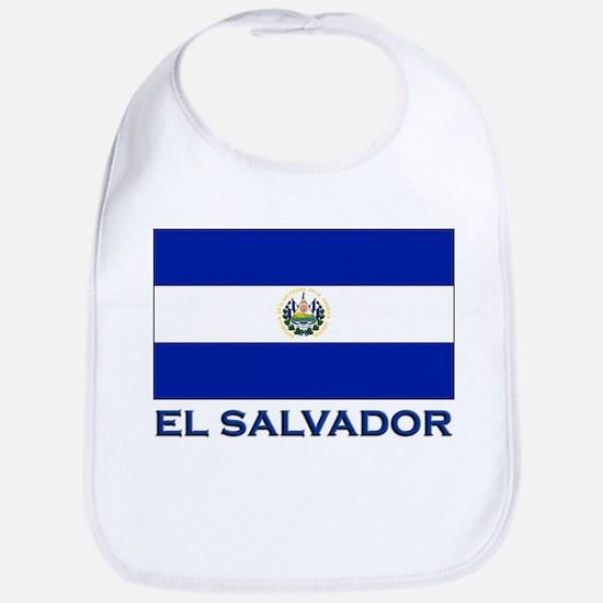 El Salvador Flag Gear Bib