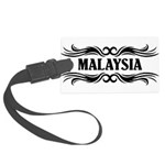 Tribal Malaysia Large Luggage Tag