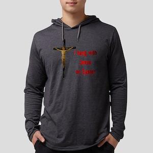 hangwithjesus Mens Hooded Shirt