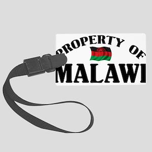 Property Of Malawi Large Luggage Tag