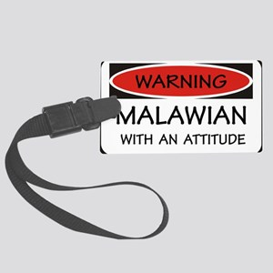 Attitude Malawian Large Luggage Tag