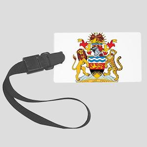 Malawi Coat Of Arms Large Luggage Tag