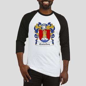 Castellon Coat of Arms Baseball Jersey