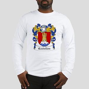 Castellon Coat of Arms Long Sleeve T-Shirt