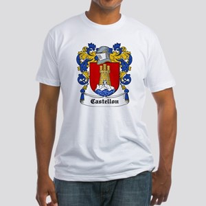 Castellon Coat of Arms Fitted T-Shirt