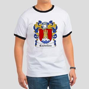 Castellon Coat of Arms Ringer T