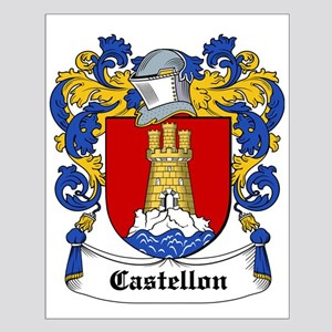 Castellon Coat of Arms Small Poster