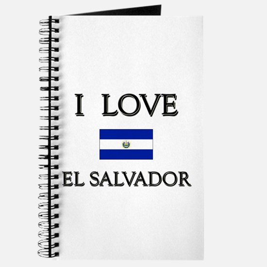I Love El Salvador Journal
