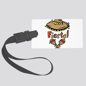 Mexico Fiesta Large Luggage Tag