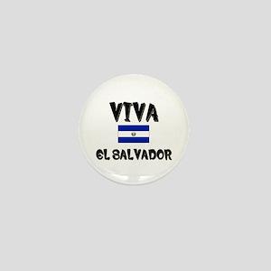 Viva El Salvador Mini Button