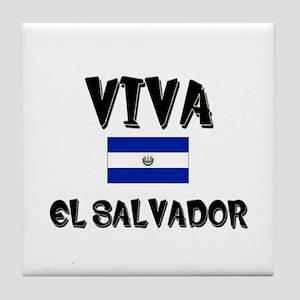 Viva El Salvador Tile Coaster