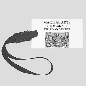 MARTIA; arts Large Luggage Tag