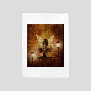 Fairy With Lights 5'x7'area Rug