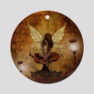 Fairy with lights Ornament (Round)