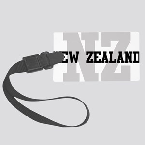 NZ New Zealand Large Luggage Tag