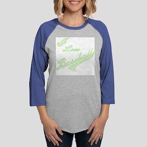 GREENLOVEBASEBALL Womens Baseball Tee