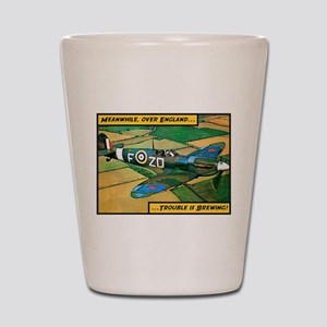 Spitfire - Trouble Brewing! Shot Glass