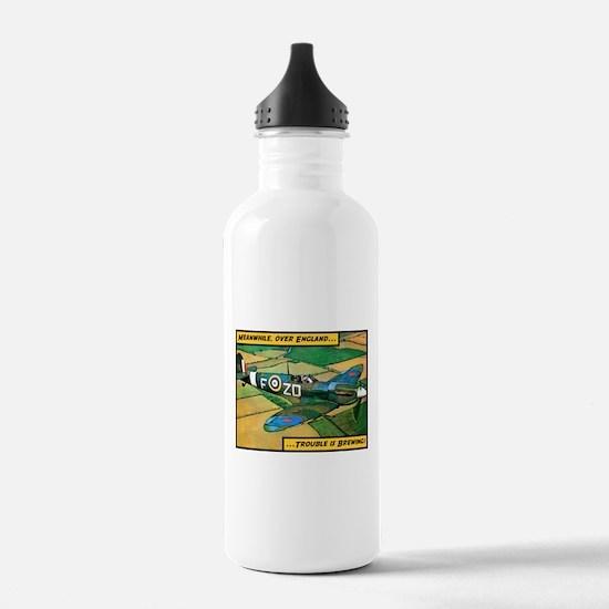 Spitfire - Trouble Brewing! Water Bottle