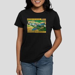 Spitfire - Trouble Brewing! Women's Dark T-Shirt