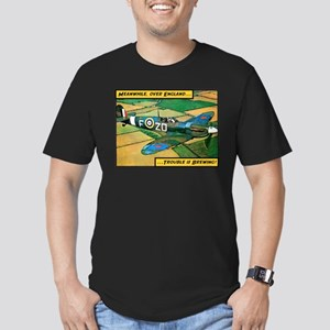 Spitfire - Trouble Brewing! Men's Fitted T-Shirt (