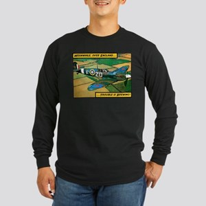 Spitfire - Trouble Brewing! Long Sleeve Dark T-Shi